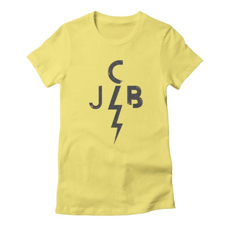 JCB Lightning Black Women's T-Shirt by JeffCarlsonBand's Artist Shop