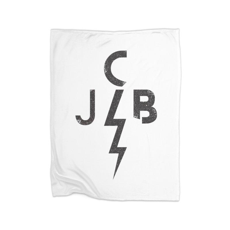 JCB Lightning Black Home Blanket by JeffCarlsonBand's Artist Shop