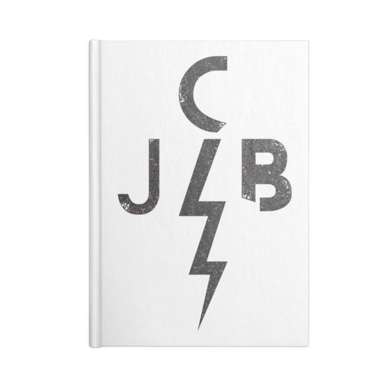 JCB Lightning Black Accessories Notebook by JeffCarlsonBand's Artist Shop