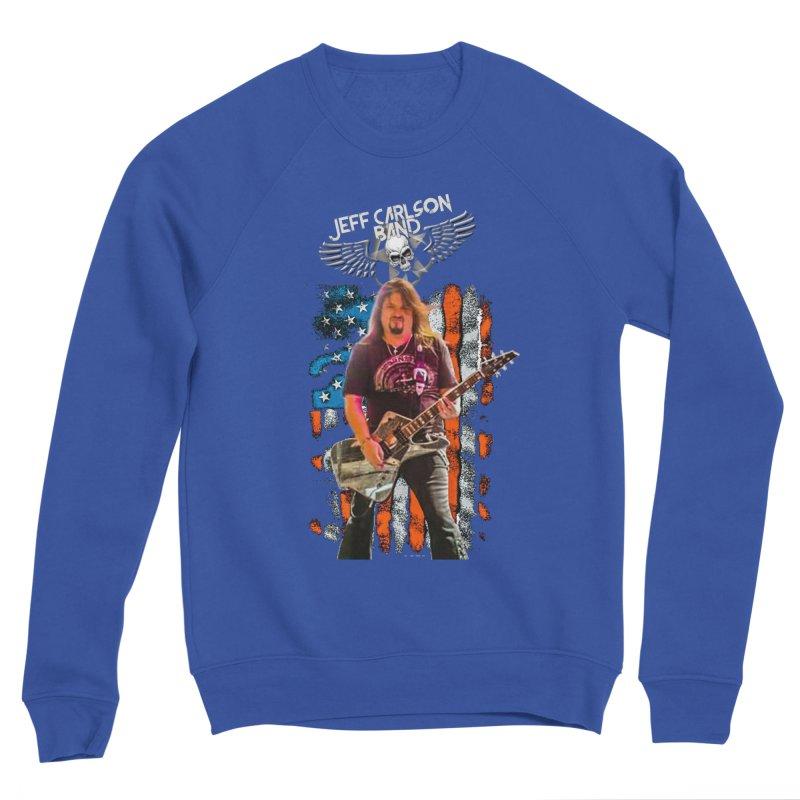 JC American Flag Live-(Brad Coletti Collection) Women's Sweatshirt by JeffCarlsonBand's Artist Shop
