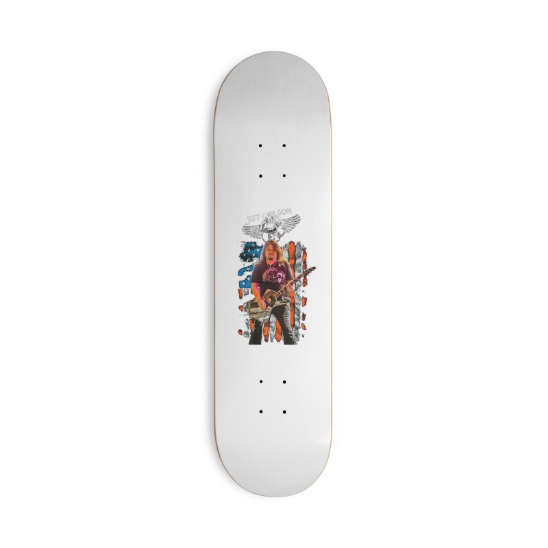 JC American Flag Live-(Brad Coletti Collection) Accessories Skateboard by JeffCarlsonBand's Artist Shop