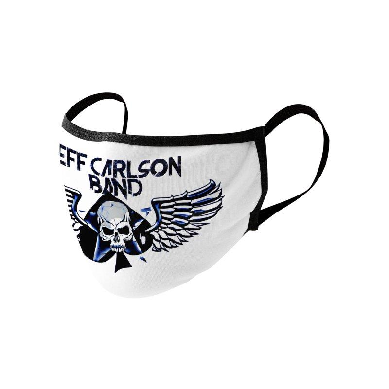 JCB New Blue Logo Accessories Face Mask by JeffCarlsonBand's Artist Shop