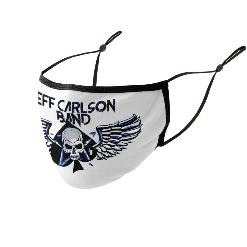 JCB New Blue Logo Accessories Face Mask by JeffCarlsonBand's Artist Shop