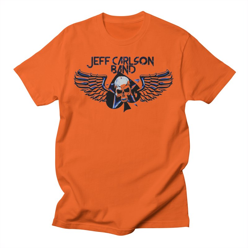 JCB New Blue Logo Men's T-Shirt by JeffCarlsonBand's Artist Shop