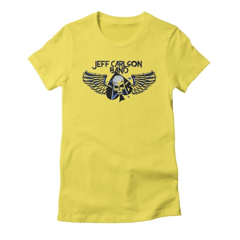 JCB New Blue Logo Women's T-Shirt by JeffCarlsonBand's Artist Shop