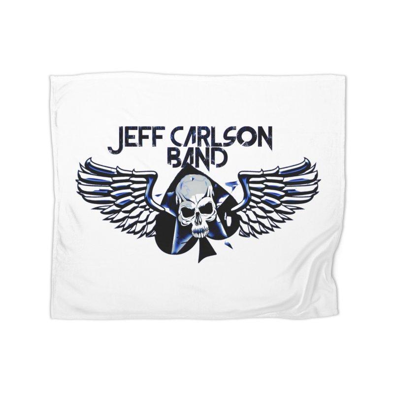 JCB New Blue Logo Home Blanket by JeffCarlsonBand's Artist Shop