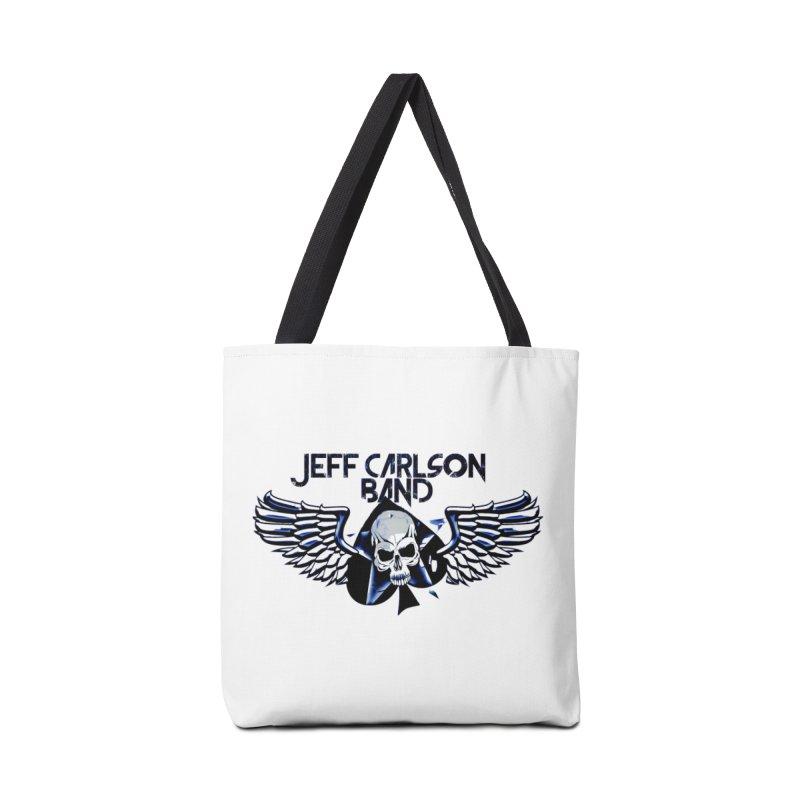 JCB New Blue Logo Accessories Bag by JeffCarlsonBand's Artist Shop