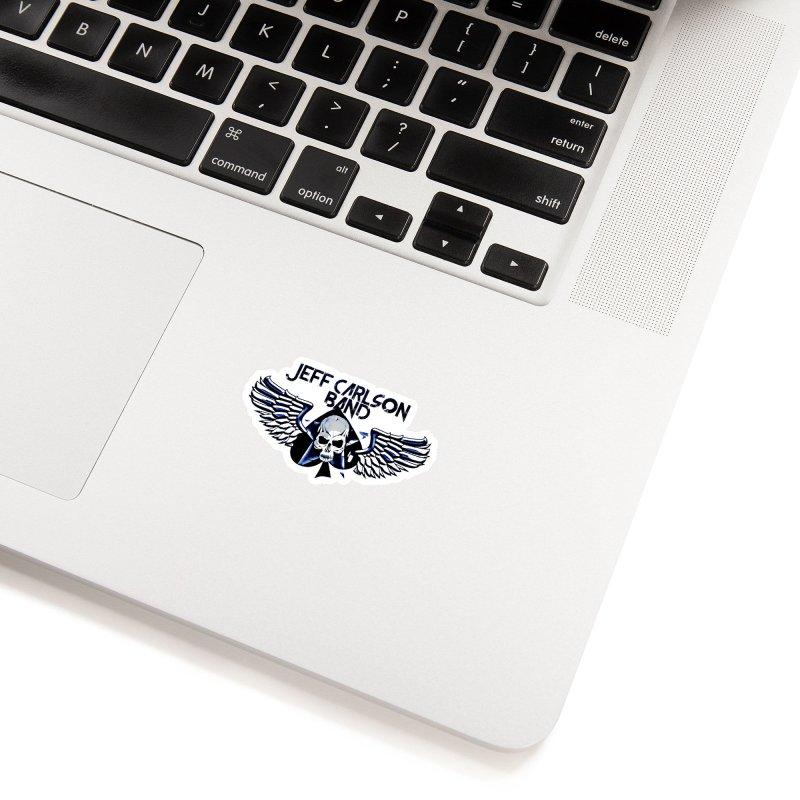 JCB New Blue Logo Accessories Sticker by JeffCarlsonBand's Artist Shop