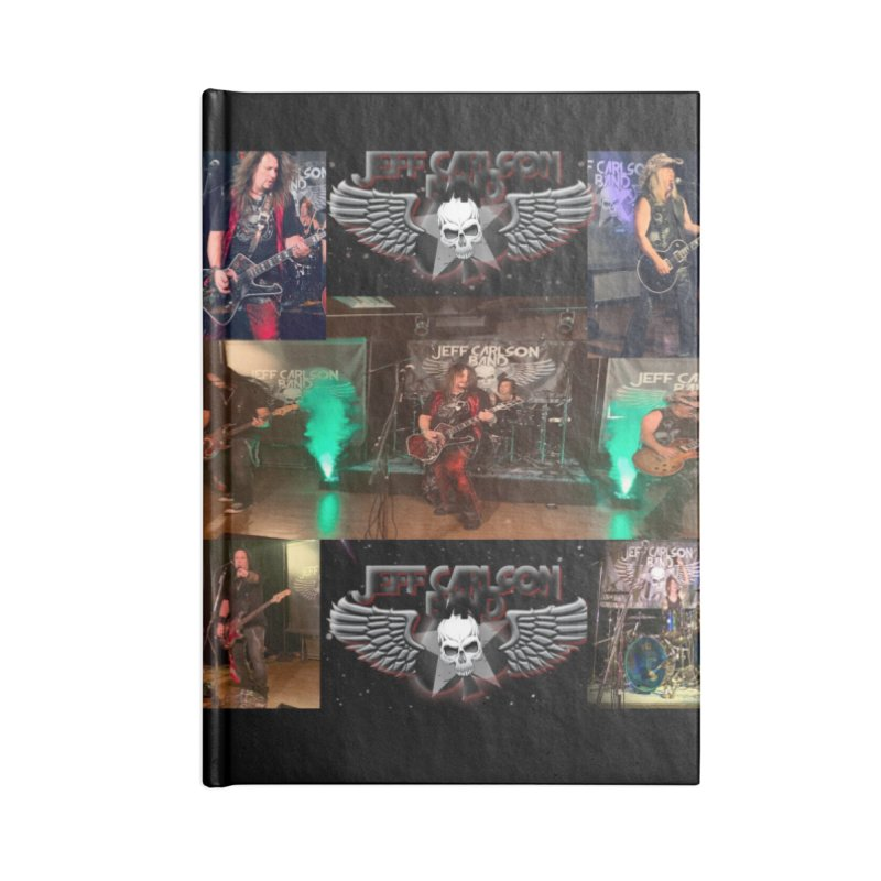 JCB New Space Collage Accessories Notebook by JeffCarlsonBand's Artist Shop