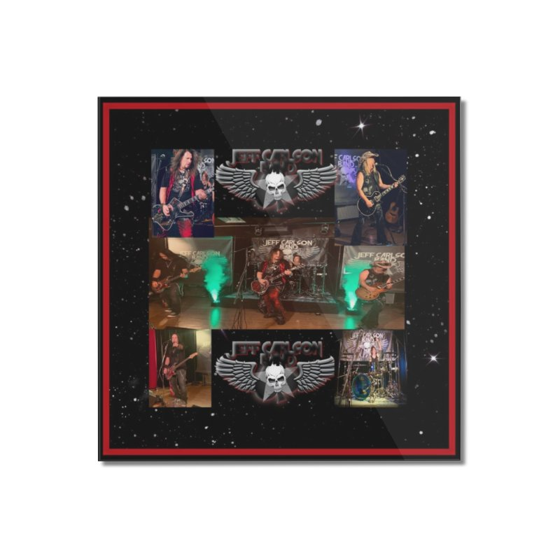 JCB New Space Collage Home Mounted Acrylic Print by JeffCarlsonBand's Artist Shop