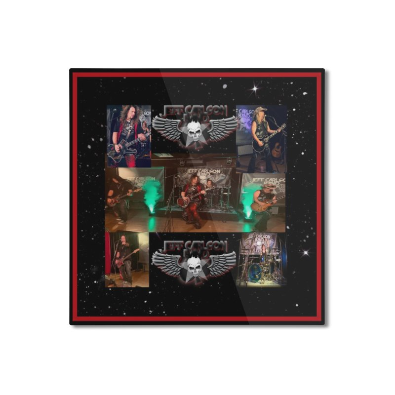 JCB New Space Collage Home Mounted Aluminum Print by JeffCarlsonBand's Artist Shop