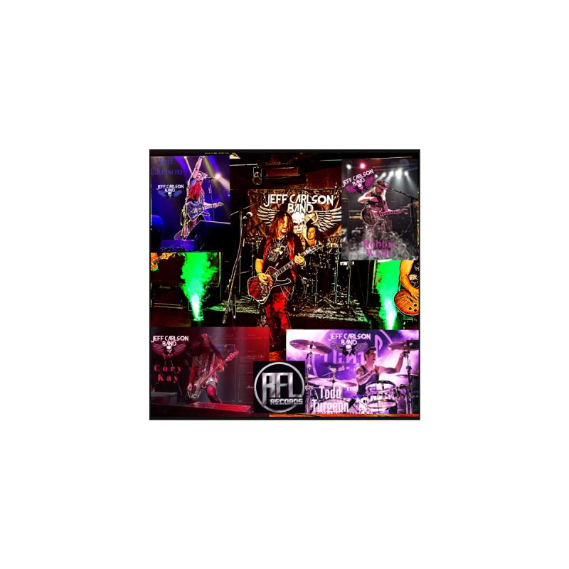 JCB Live Poster Shot! Home Mounted Acrylic Print by JeffCarlsonBand's Artist Shop
