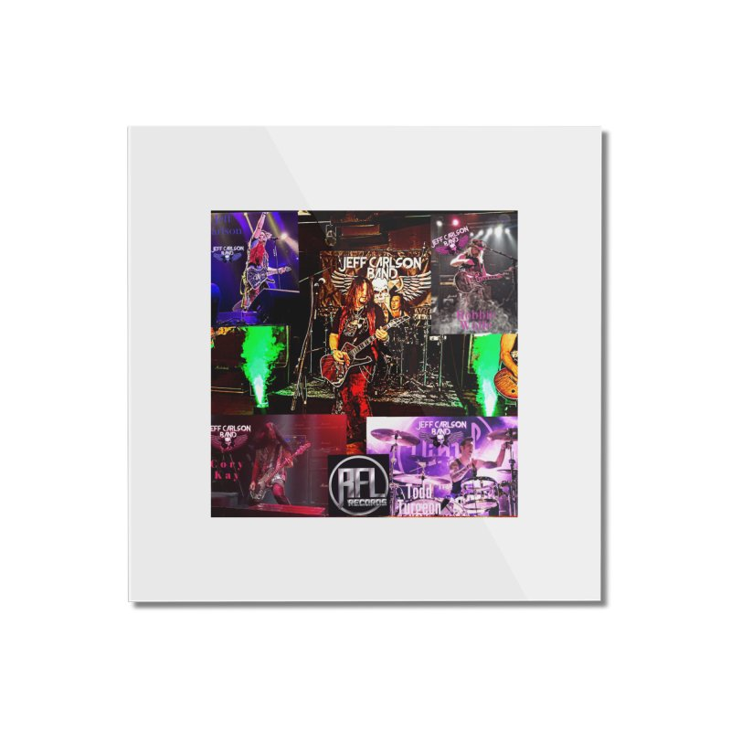 JCB Poster Women's Home Mounted Acrylic Print by JeffCarlsonBand's Artist Shop