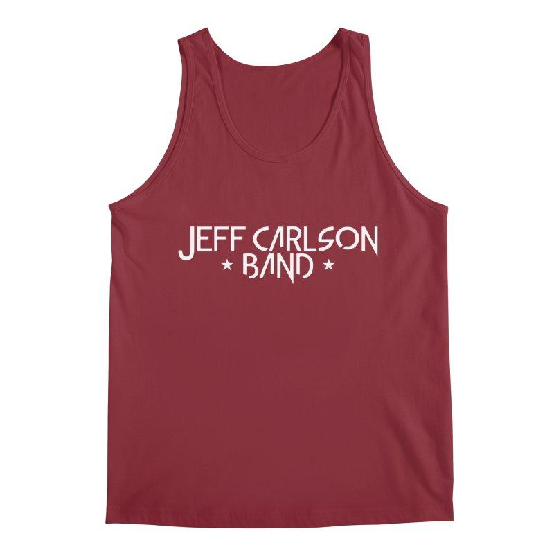 JCB White Logo Men's Regular Tank by JeffCarlsonBand's Artist Shop