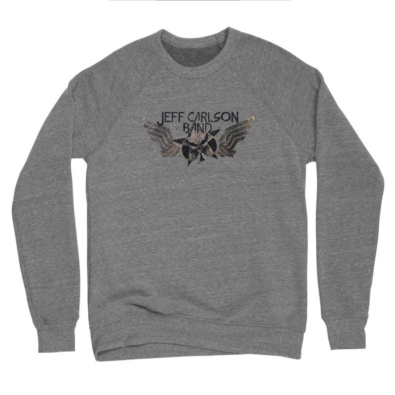 Jeff Carlson Band Wings logo Women's Sponge Fleece Sweatshirt by JeffCarlsonBand's Artist Shop