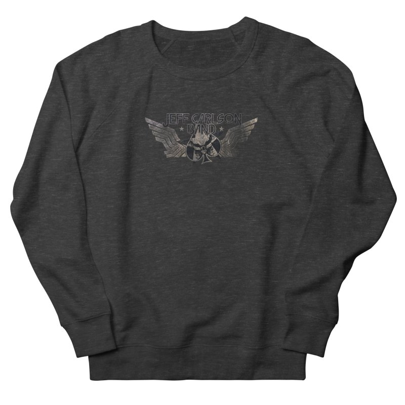 Jeff Carlson Band Wings logo Women's French Terry Sweatshirt by JeffCarlsonBand's Artist Shop