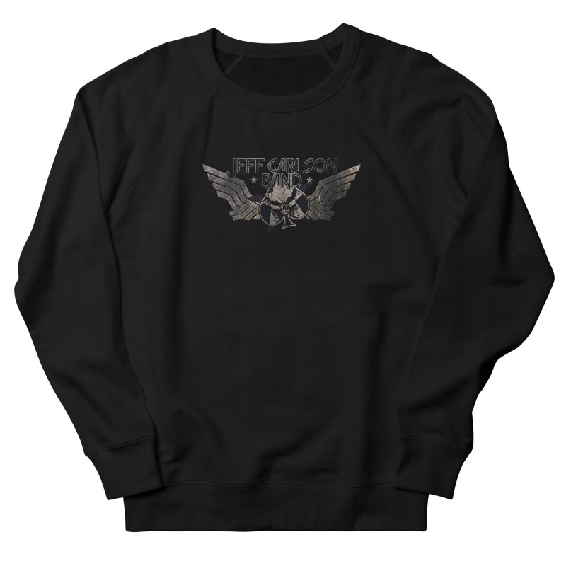 Jeff Carlson Band Wings logo Men's French Terry Sweatshirt by JeffCarlsonBand's Artist Shop