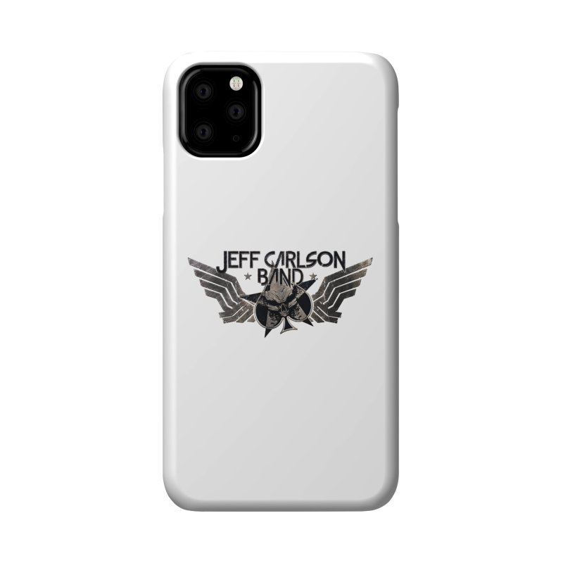 Jeff Carlson Band Wings logo Accessories Phone Case by JeffCarlsonBand's Artist Shop