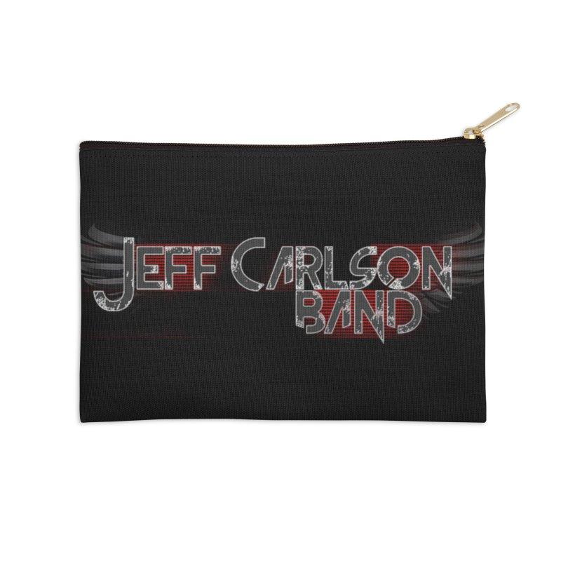 JCB Wings Accessories Zip Pouch by JeffCarlsonBand's Artist Shop