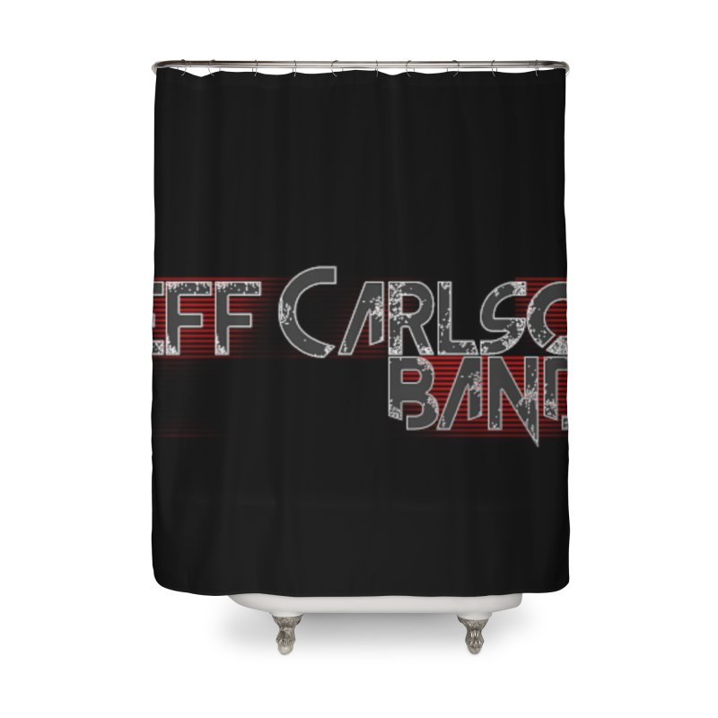 JCB Wings Home Shower Curtain by JeffCarlsonBand's Artist Shop