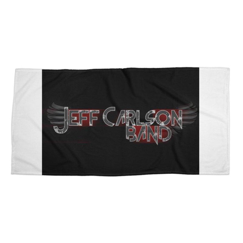 JCB Wings Accessories Beach Towel by JeffCarlsonBand's Artist Shop