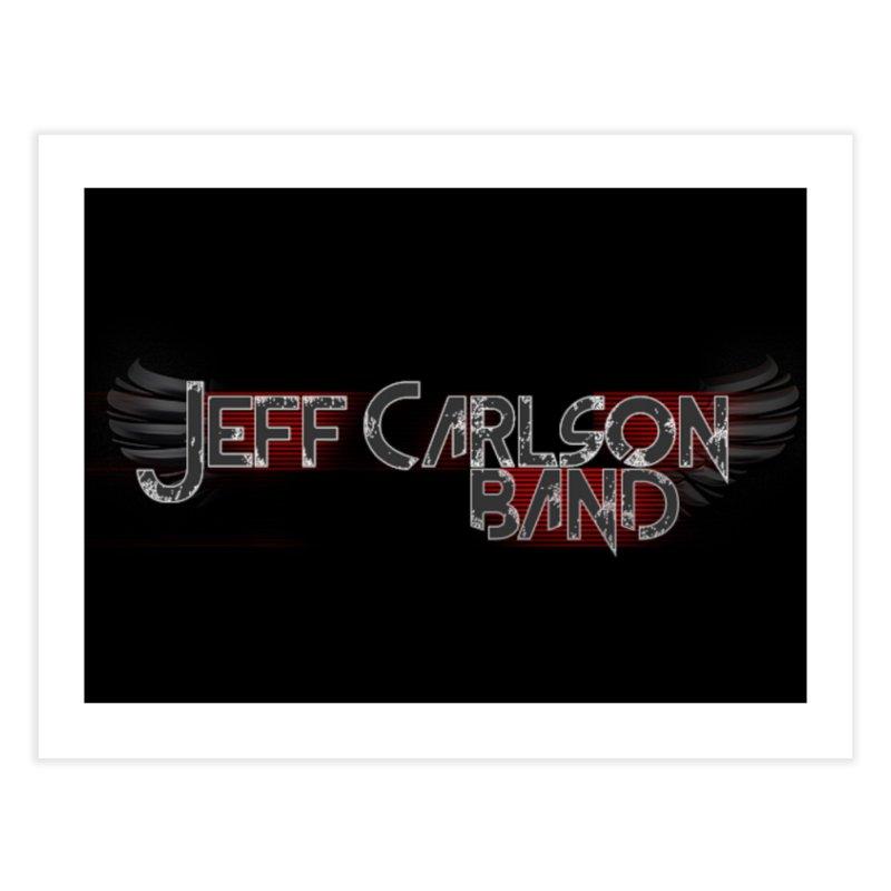 JCB Wings Home Fine Art Print by JeffCarlsonBand's Artist Shop