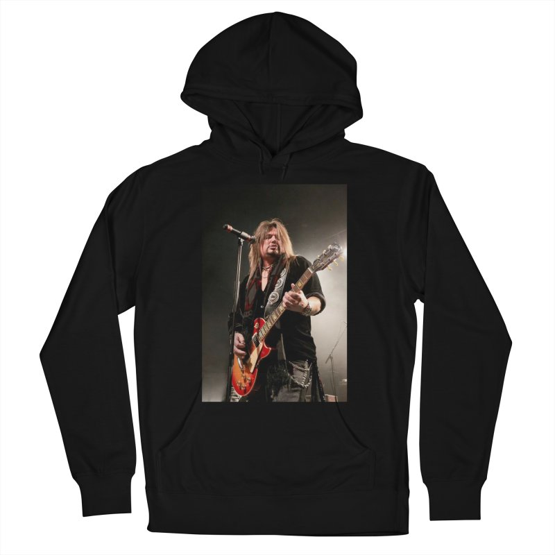 Jeff Live! Men's French Terry Pullover Hoody by JeffCarlsonBand's Artist Shop