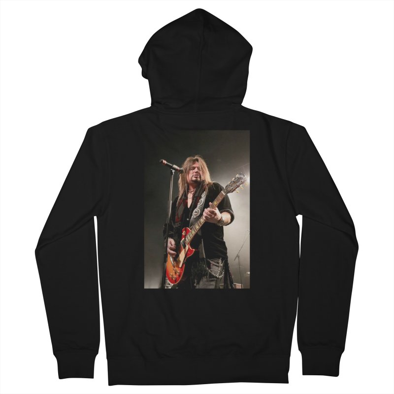 Jeff Live! Men's French Terry Zip-Up Hoody by JeffCarlsonBand's Artist Shop