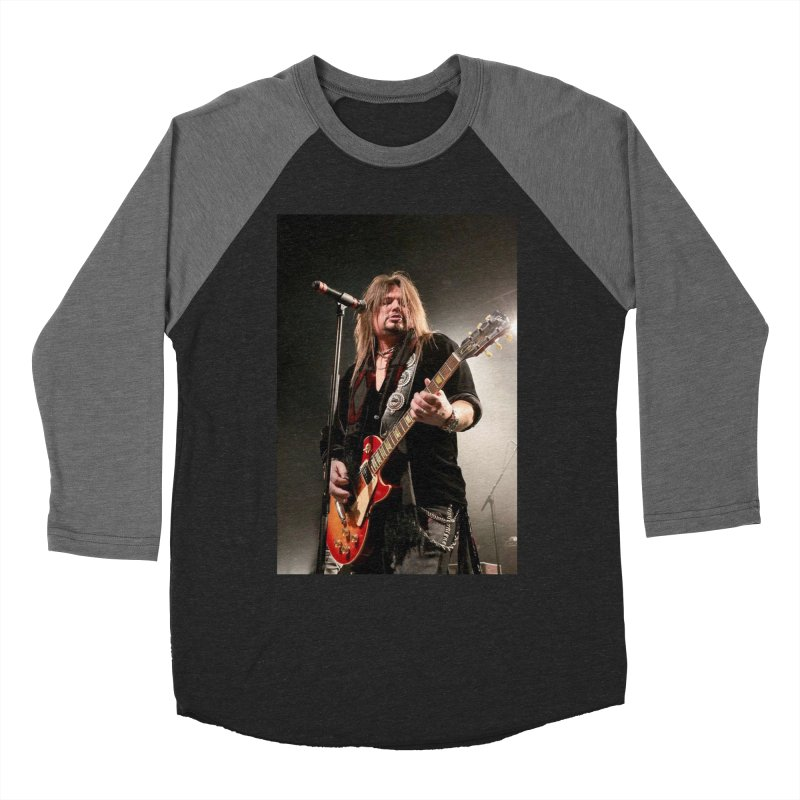 Jeff Live! Women's Baseball Triblend Longsleeve T-Shirt by JeffCarlsonBand's Artist Shop