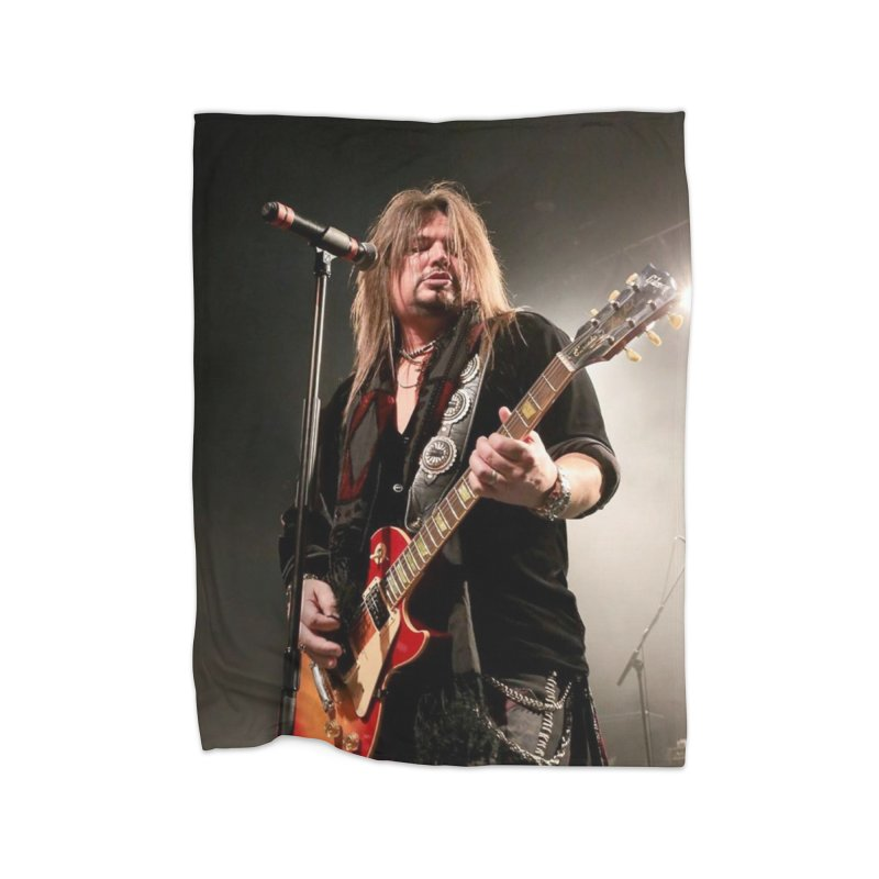 Jeff Live! Home Fleece Blanket Blanket by JeffCarlsonBand's Artist Shop