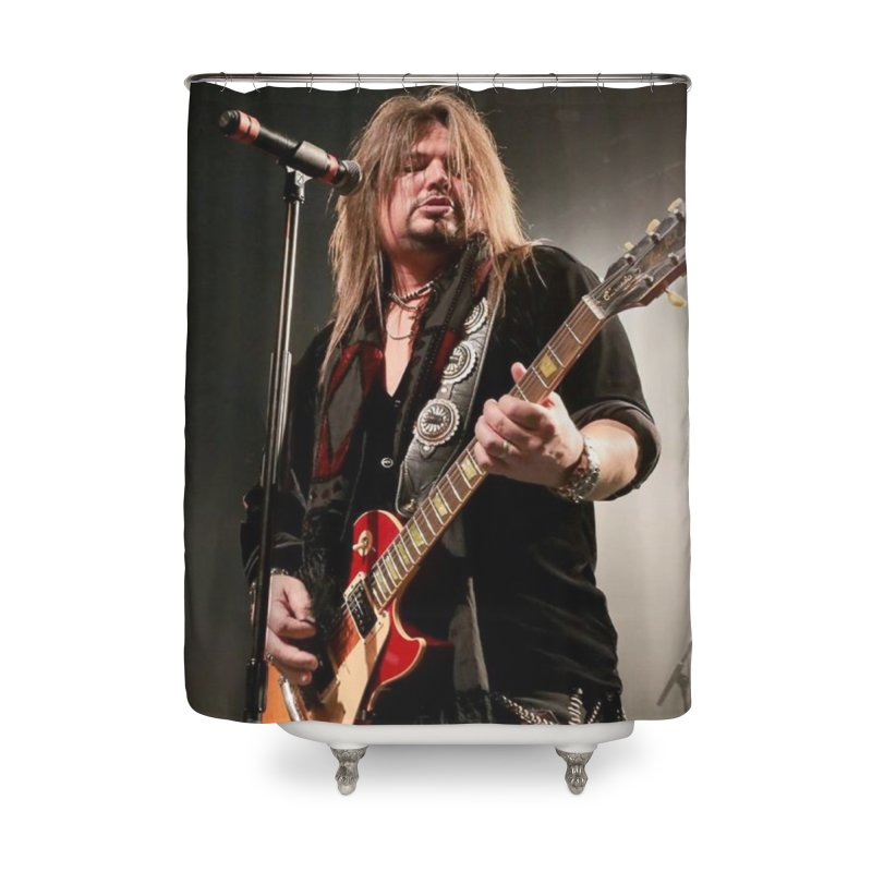 Jeff Live! Home Shower Curtain by JeffCarlsonBand's Artist Shop