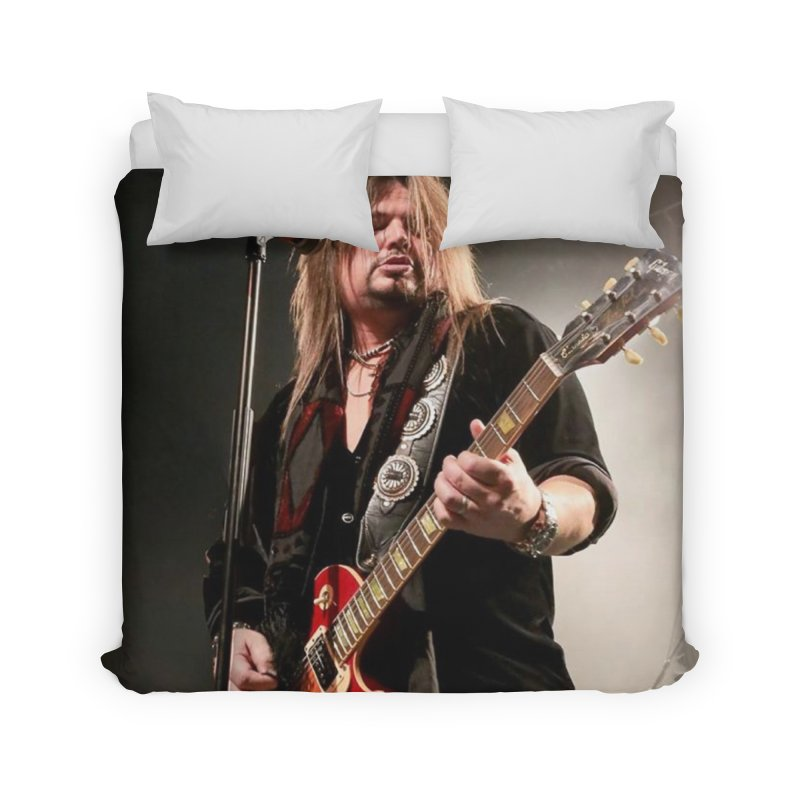 Jeff Live! Home Duvet by JeffCarlsonBand's Artist Shop