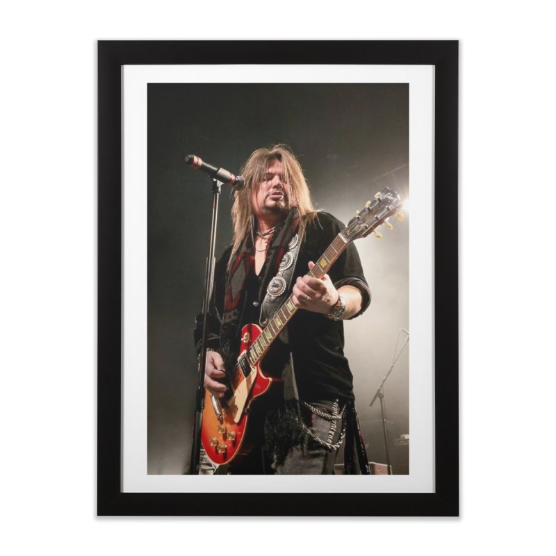 Jeff Live! Home Framed Fine Art Print by JeffCarlsonBand's Artist Shop