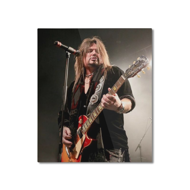 Jeff Live! Home Mounted Aluminum Print by JeffCarlsonBand's Artist Shop