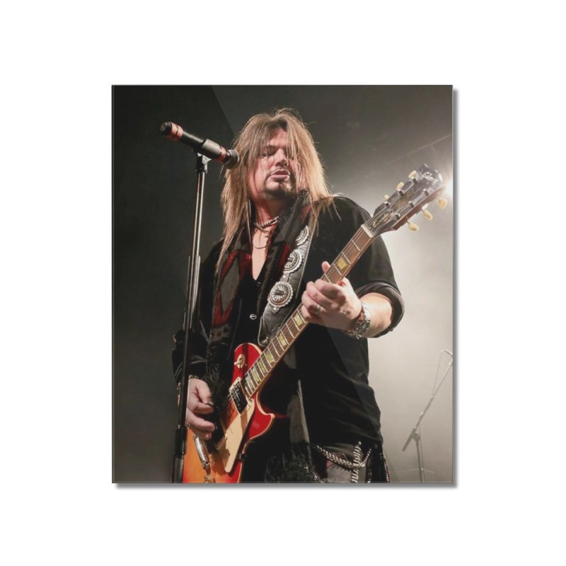 Jeff Live! Home Mounted Acrylic Print by JeffCarlsonBand's Artist Shop