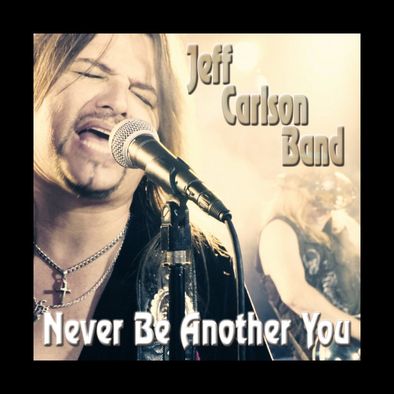 """Jeff Carlson Band """"Never Be Another You"""" Men's T-Shirt by JeffCarlsonBand's Artist Shop"""