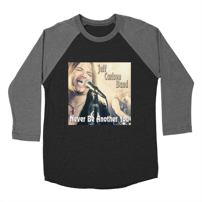 "Jeff Carlson Band ""Never Be Another You"" Men's Baseball Triblend Longsleeve T-Shirt by JeffCarlsonBand's Artist Shop"