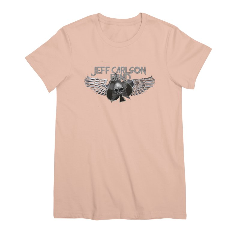 JCB Transparent Wings Women's Premium T-Shirt by JeffCarlsonBand's Artist Shop