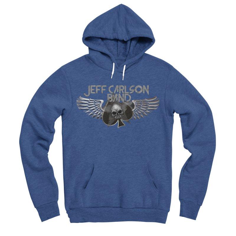 JCB Transparent Wings Men's Sponge Fleece Pullover Hoody by JeffCarlsonBand's Artist Shop
