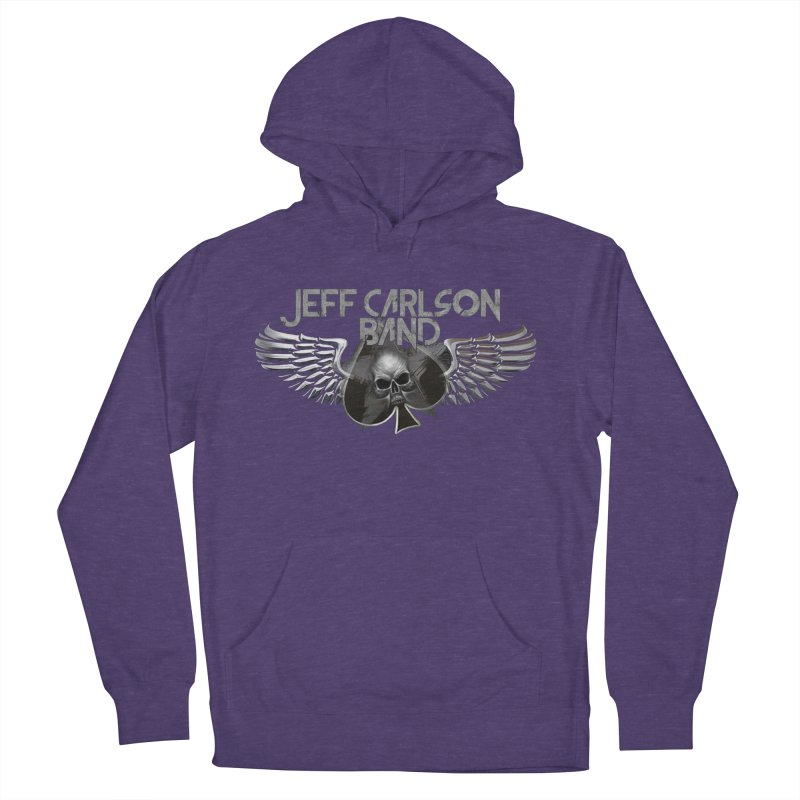JCB Transparent Wings Men's French Terry Pullover Hoody by JeffCarlsonBand's Artist Shop