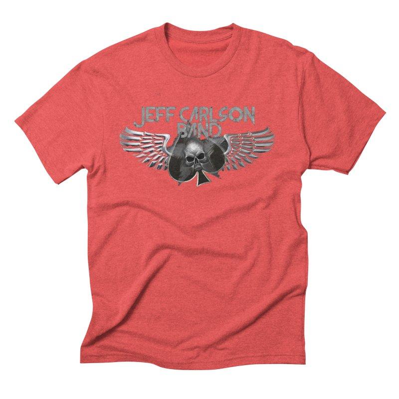 JCB Transparent Wings Men's Triblend T-Shirt by JeffCarlsonBand's Artist Shop