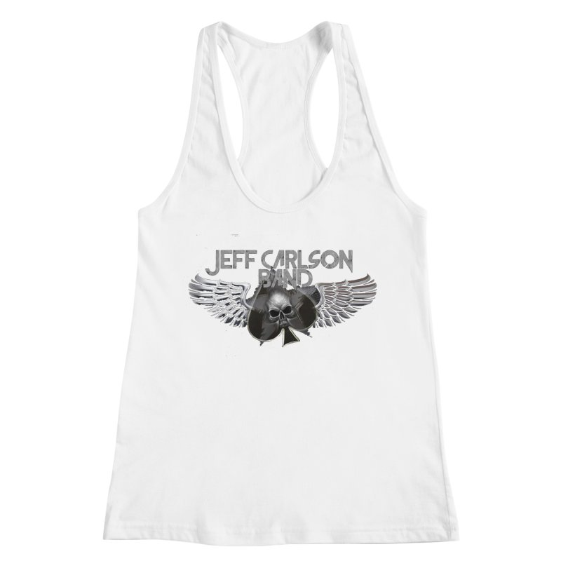 JCB Transparent Wings Women's Racerback Tank by JeffCarlsonBand's Artist Shop