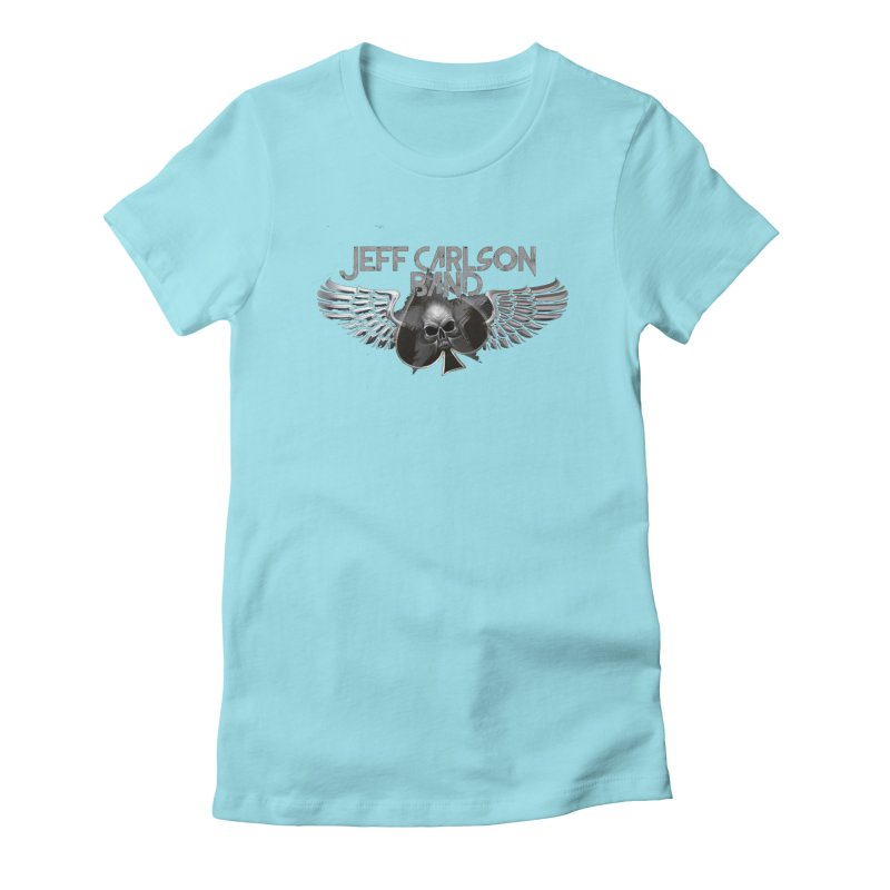 JCB Transparent Wings Women's Fitted T-Shirt by JeffCarlsonBand's Artist Shop