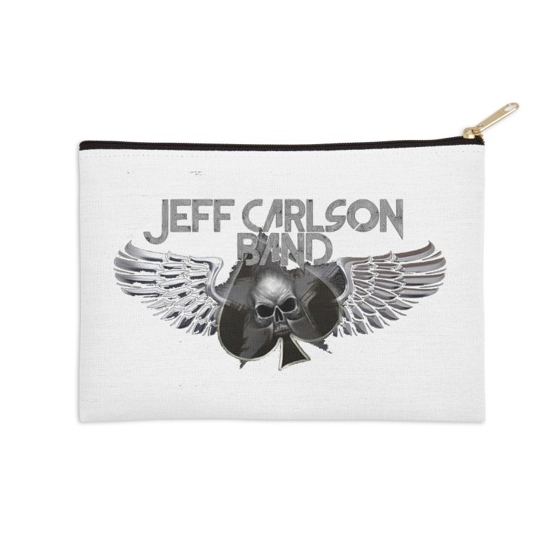 JCB Transparent Wings Accessories Zip Pouch by JeffCarlsonBand's Artist Shop