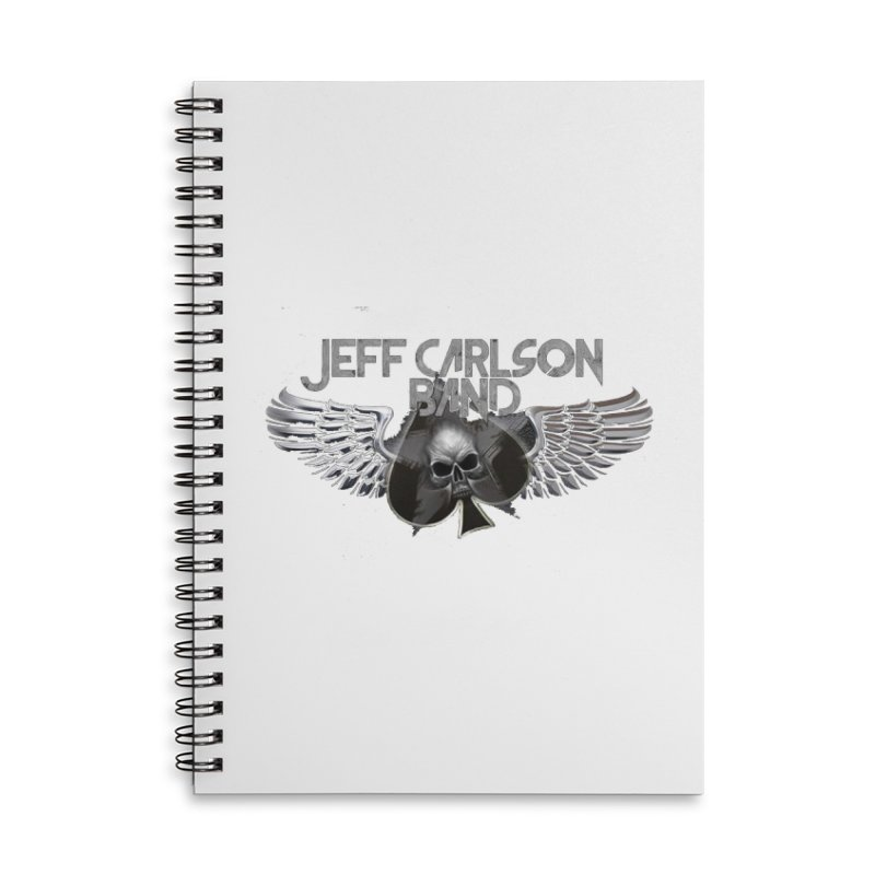 JCB Transparent Wings Accessories Lined Spiral Notebook by JeffCarlsonBand's Artist Shop