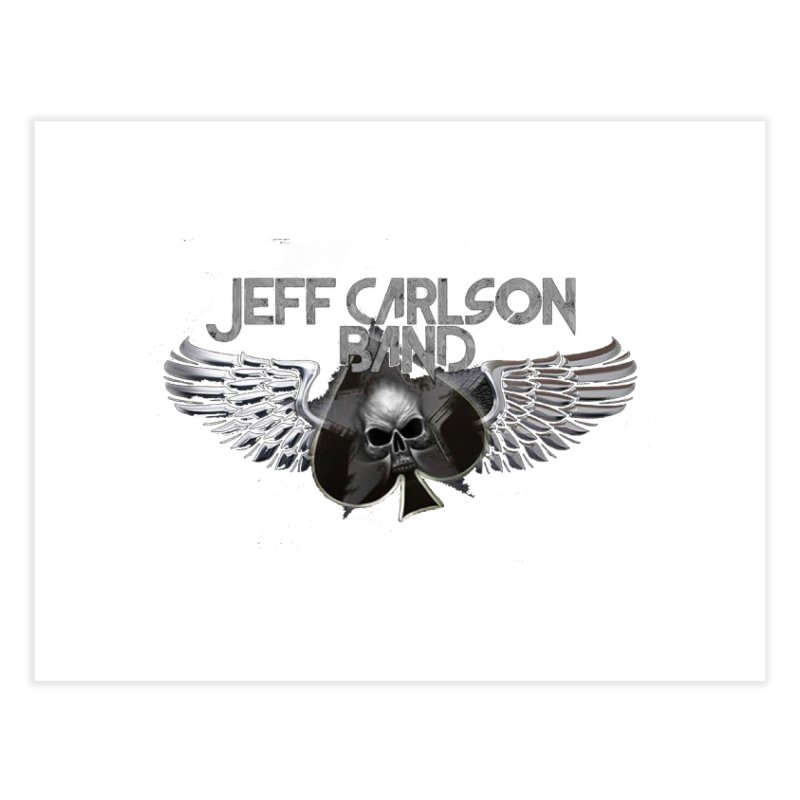 JCB Transparent Wings Home Fine Art Print by JeffCarlsonBand's Artist Shop