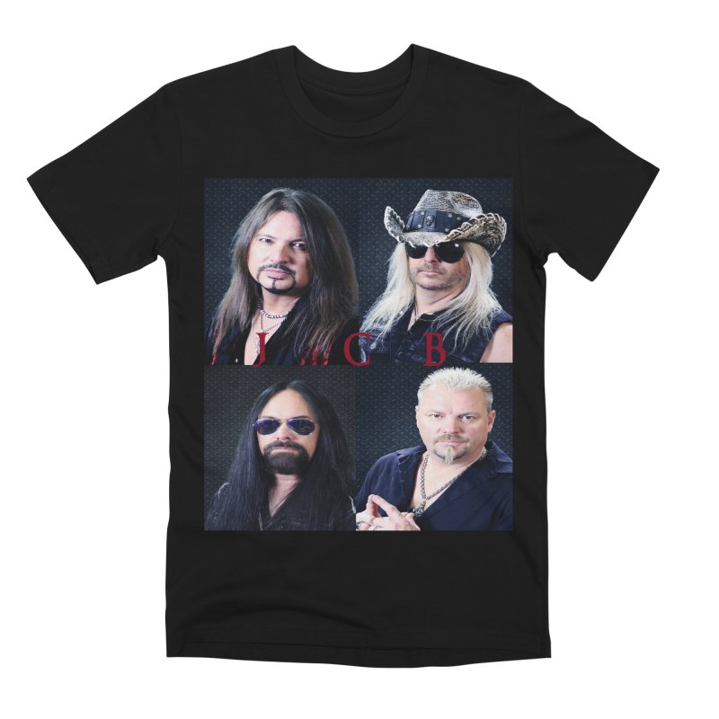 JCB Collage Men's Premium T-Shirt by JeffCarlsonBand's Artist Shop