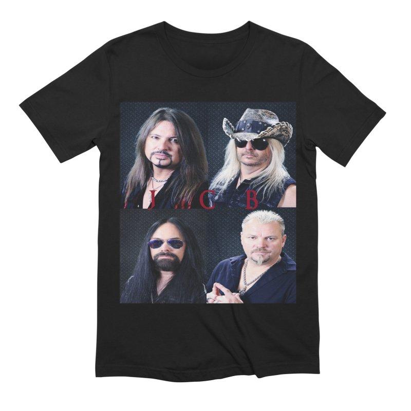 JCB Collage Men's Extra Soft T-Shirt by JeffCarlsonBand's Artist Shop