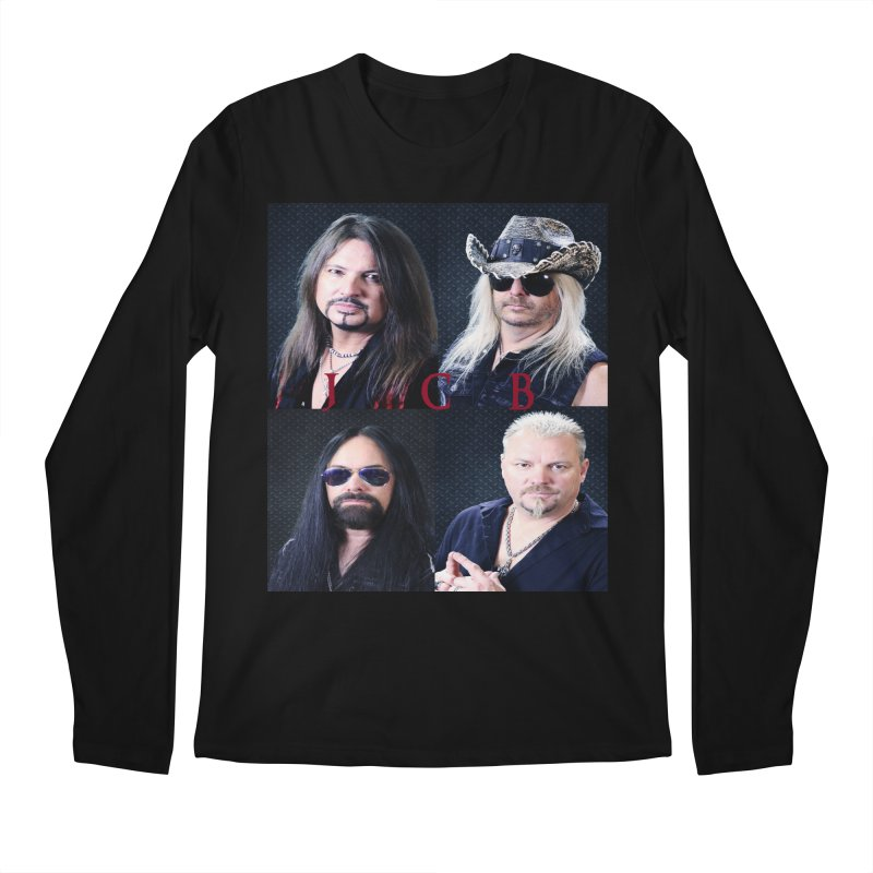 JCB Collage Men's Regular Longsleeve T-Shirt by JeffCarlsonBand's Artist Shop