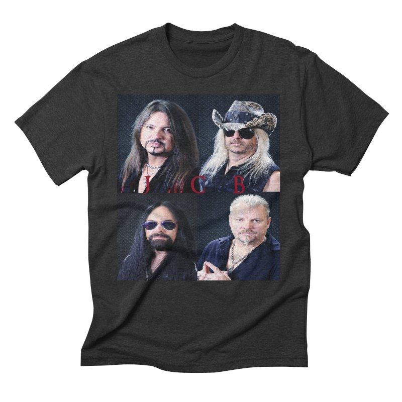 JCB Collage Men's Triblend T-Shirt by JeffCarlsonBand's Artist Shop